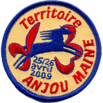 Badge Scouts anjou-maine