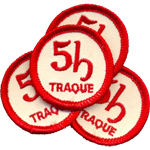 Badge 5h traque