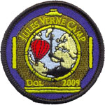 Badge Jules Vernes Camp