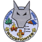 Badge Woodfighter