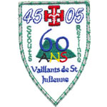 Badge scouts vaillants de StJulienne
