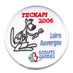 Badge Teckapi scouts-guides