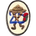 Badge Scouts Moustier