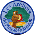 Badge Archers Plessis