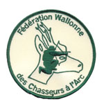 Badge Fédération Wall chasseur arc