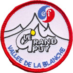 Badge ESF Grand Puy