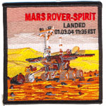 Badge Mars Rover Spirit