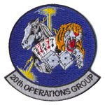 Badge 20th operations groups