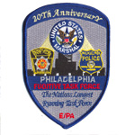 Badge 20th anniversary