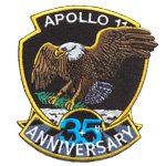 Badge Apollo 35 anniversary