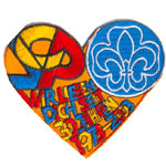 Badge Heart 1993-2003
