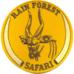 Badge rain forest