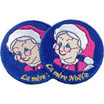 Badge Mère Noël