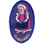 Badge La mère Noël