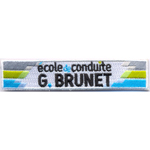 Badge Brunet
