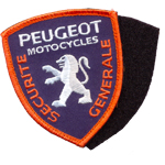 Badge Peugeot Securite