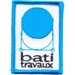 Badge Bati travaux