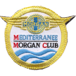 Badge Mediterrannée Morgan Club