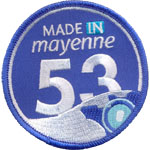 Badge Made in Mayenne