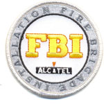 Badge FBI - Alcatel