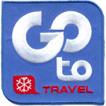 Badge Go To Travel