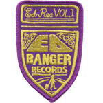 Badge Ed banger records 2