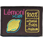 Badge LEmoni café