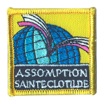 Badge Assomption Ste Clothilde