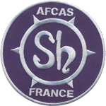 Badge AFCAS FRANCE